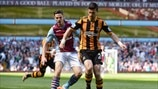 Ciaran Clark (Aston Villa FC) & Shane Long (Hull City AFC)