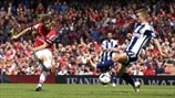 Mathieu Flamini (Arsenal FC) & James Morrison (West Bromwich Albion FC)