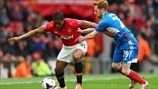 Antonio Valencia (Manchester United FC) & Stephen Quinn (Hull City AFC)