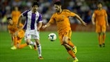 Víctor Pérez Alonso (Real Valladolid CF) & Isco (Real Madrid CF)