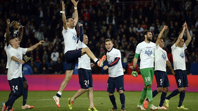 Paris champions again after Monaco draw