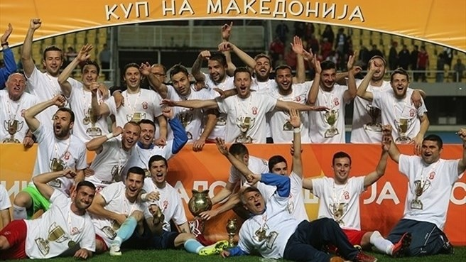 Rabotnicki ensure third Macedonian Cup