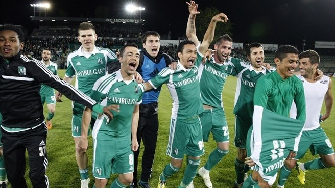 Ludogorets complete Bulgarian title hat-trick