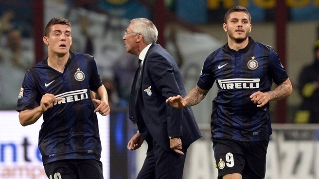 Inter maintain European march with Lazio win