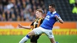 Stephen Quinn (Hull City AFC) & James McCarthy (Everton FC)