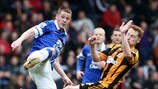 James McCarthy (Everton FC) & Stephen Quinn (Hull City AFC)