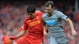 Luis Suárez (Liverpool FC) & Mike Williamson ()