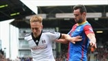 Cauley Woodrow (Fulham FC) & Damien Delaney (Crystal Palace FC)