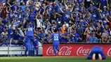 Getafe CF players celebrate