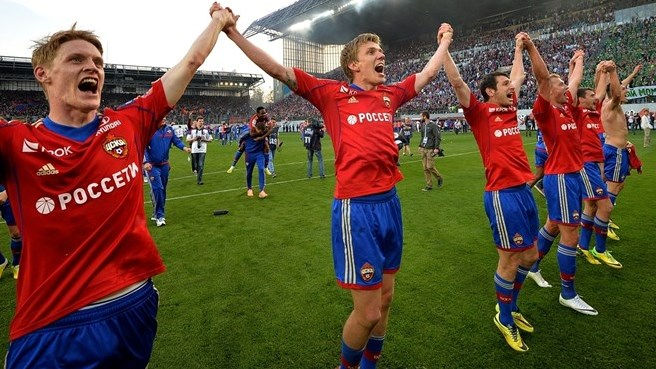 Tošić strike scoops Russian title for CSKA