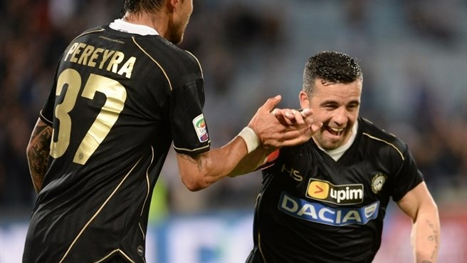 Sampdoria share spoils with Udinese