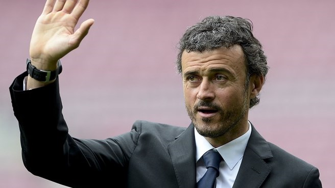 Luis Enrique excited by Barcelona challenge