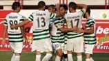 AC Omonia players celebrate