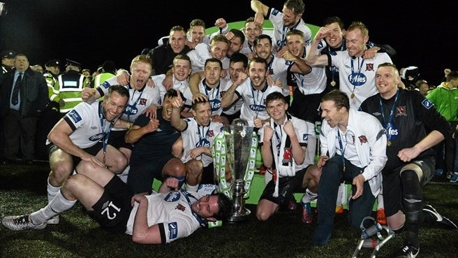 Dundalk down Cork to seal Irish title