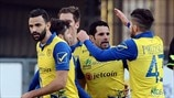AC Chievo Verona players celebrate