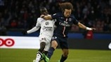 N'Golo Kanté (SM Caen) & David Luiz (Paris Saint-Germain)