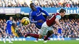 Kurt Zouma (Chelsea FC) & Daniel Lafferty (Burnley FC)