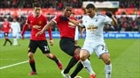 Antonio Valencia (Manchester United FC) & Jefferson Montero (Swansea City AFC)