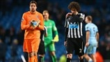 Tim Krul & Fabricio Coloccini (Newcastle United FC)
