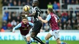 Moussa Sissoko (Newcastle United FC), Ashley Westwood & Tom Cleverley (Aston Villa FC)