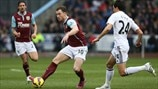 Ashley Barnes (Burnley FC) & Jack Cork (Swansea City AFC)