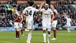 Jack Cork & Ashley Williams (Swansea City AFC)