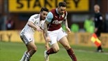 Neil Taylor (Swansea City AFC) & Danny Ings (Burnley FC)