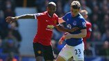 Ashley Young (Manchester United FC) & Seamus Coleman (Everton FC)