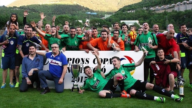 Sant Julià hold nerve to retain Andorran Cup