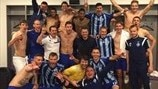 FC Dynamo Kyiv celebrations