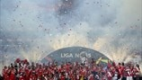 Benfica title celebrations (SL Benfica)