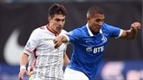 Artur Maloyan (FC Arsenal Tula) & William Vainqueur (FC Dinamo Moskva)