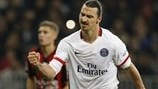 Ibrahimović sets Ligue 1 scoring record for Paris