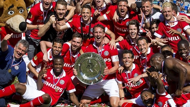 PSV crowned champions after Ajax stumble