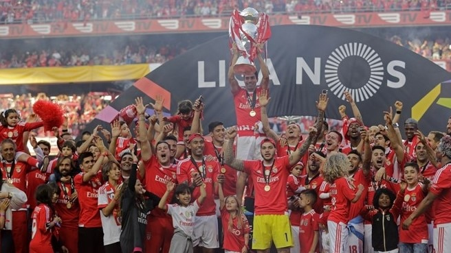 Benfica secure 35th Portuguese crown