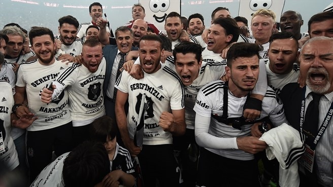 Beşiktaş end Turkish title drought