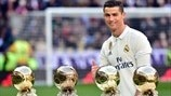 Real Madrid's Ballon d'Or history