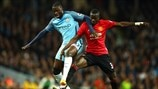 Yaya Touré (Manchester City) & Eric Bailly (Manchester United)