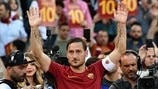 Francesco Totti to receive UEFA President's Award