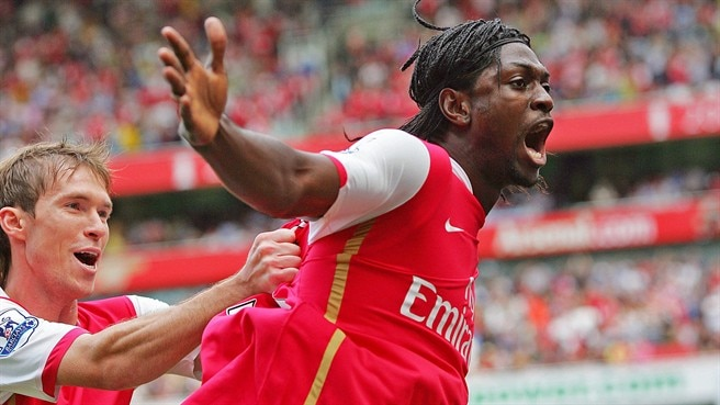 Adebayor hits new heights