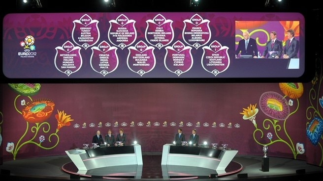EURO 2012 qualifying draw in full