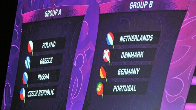 EURO draw throws up fascinating group tests