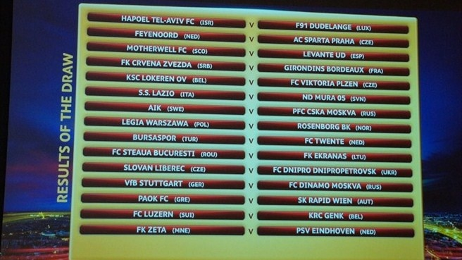 UEFA Europa League - Play-off round