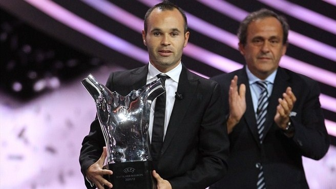 Andrés Iniesta (UEFA Best Player in Europe Award)