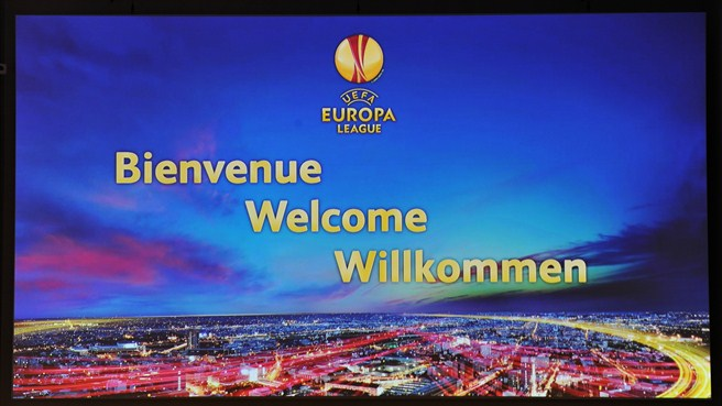 UEFA Europa League welcome, Grimaldi Forum
