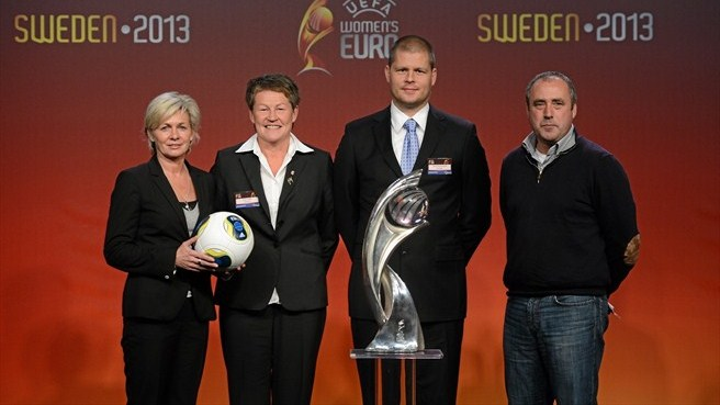 Group B representatives (UEFA Women's EURO 2013 finals draw)