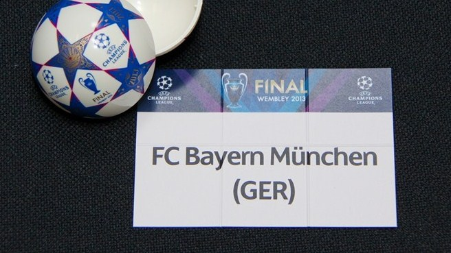 UEFA Champions League round of 16 draw ball
