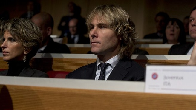 Pavel Nedvěd (UEFA Champions League round of 16 draw)