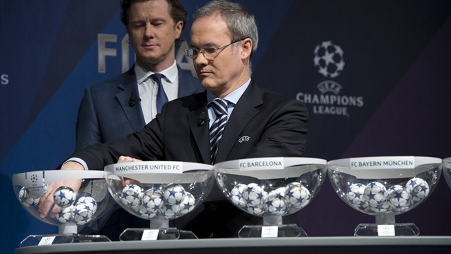 Giorgio Marchetti (UEFA Champions League round of 16 draw)
