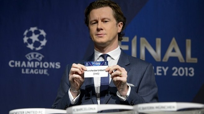 Steve McManaman (UEFA Champions League round of 16 draw)